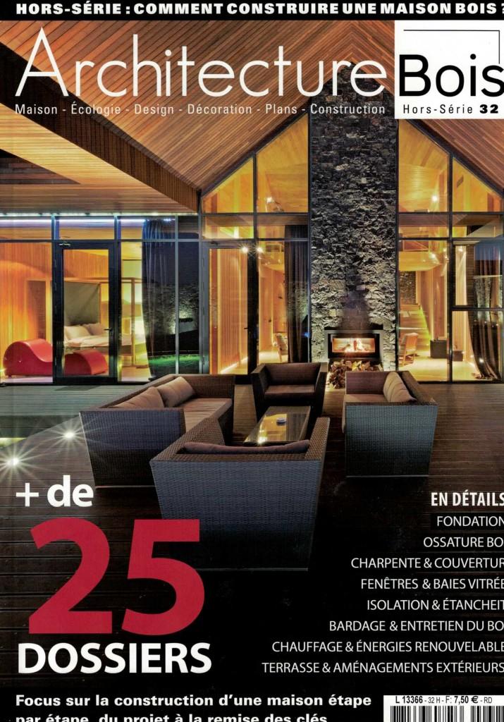 Fil d'Air a participé à la création du premier gîte passif des Hautes-Alpes. Lisez l'aventure dans Architecture Bois hors série n°32!