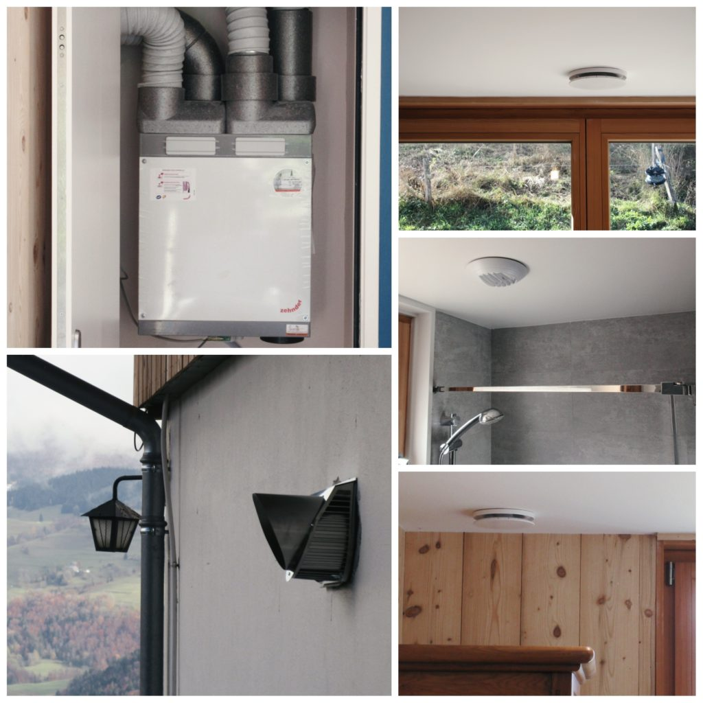 rénovation ventilation double flux zehnder comfoair180