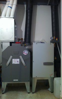 Zehnder ComfoAir 350 associé à un puits canadien hydraulique